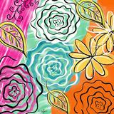 Feurs de Jardin II Posters by Rebecca Lyon