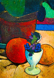 Paula-Modersohn-Becker Still Life with Lemon, Orange and Tomato Art Print Poster Masterprint