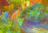 Otakar Lebeda Lilac Art Print Poster Masterprint