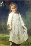 William-Adolphe Bouguereau The Curtsey Art Print Poster Print