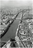 Paris France River Seine Archival Photo Poster Print Posters