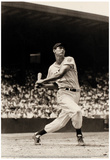 Ted Williams At Bat Archival Photo Sports Poster Print Posters