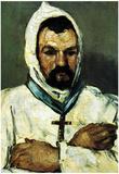 Paul Cezanne Portrait of Uncle Dominique as a Monk Art Print Poster Posters
