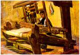 Vincent Van Gogh Weaver 2 Art Print Poster Print