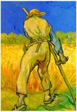 Vincent Van Gogh The Reaper Art Print Poster Posters
