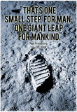Neil Armstrong One Small Step 1969 Archival Photo Poster Print Poster