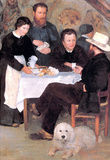 Pierre Auguste Renoir At the Inn of Mother Anthony Art Print Poster Masterprint