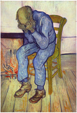 Vincent Van Gogh (Old Man in Sorrow, or On the Threshold of Eternity) Art Poster Print Prints
