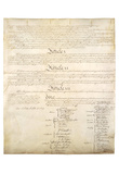 U.S. Constitution Page 4 Art Poster Print Poster