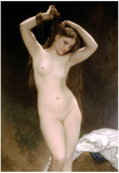 William-Adolphe Bouguereau Bather Art Print Poster Prints