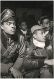 Tuskegee Airmen Pilots Archival Photo Poster Poster