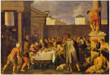 Pedro Orrente Les Noces de Cana 1633 Art Print Poster Prints