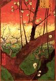 Vincent Van Gogh Japonaiserie Flowering Plum Tree after Hiroshige Art Print Poster Masterprint
