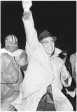 Vince Lombardi Arm Up Archival Photo Sports Poster Print Posters
