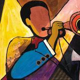 Nola Band I Poster af Everett Spruill
