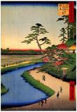 Utagawa Hiroshige Kanda Aqueduct at Sekuguchi Art Print Poster Posters