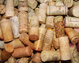 Corks II Prints by Heather A. French-Roussia