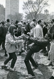 New York City Central Park People Dancing Archival Photo Poster Print Masterprint