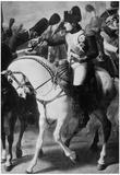 Napoleon Bonaparte on Horseback Art Print Poster Posters