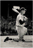 Ted Williams On Deck Boston Red Sox Archival Photo Sports Poster Print Posters