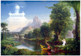 Thomas Cole The Voyage of Life Youth Art Print Poster Prints