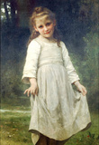 William-Adolphe Bouguereau The Curtsey Art Print Poster Masterprint
