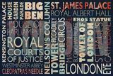 London places Affiches