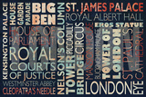 London places Poster