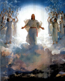Second Coming Of Jesus Christ Art Print POSTER quality Masterprint
