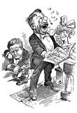 Theodore Roosevelt (Political Cartoon) Art Poster Print Photo