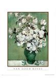 Vincent Van Gogh (Roses) Art Print Poster Posters