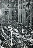 New York City Ticker Tape Parade Archival Photo Poster Print Posters