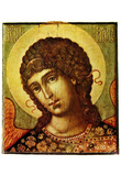 Ssemjon Fedorovich Uschakow (The Archangel Gabriel) Art Poster Print Prints