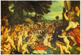 Titian The Worship of Venus Art Print Poster Posters