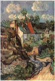 Vincent Van Gogh (House Of Auvers) Art Poster Print Posters