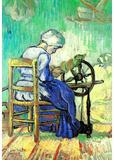 Vincent Van Gogh The Spinner Art Print Poster Masterprint