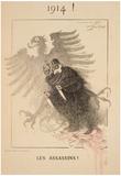 World War I Assassins French Vintage Ad Poster Print Prints