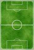 Soccer Field Sports Poster Print Reprodukcje