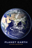 Planet Earth Eastern Hemisphere Art Print Poster Masterprint
