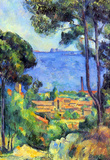Paul Cezanne Landscape Art Print Poster Masterprint