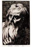 Werner van den Valckert (Plato) Art Poster Print Posters
