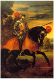Titian Emperor Karl Art Print Poster Prints