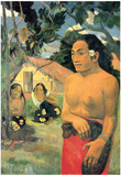 Paul Gauguin Where Do You Art Print Poster Posters