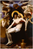 William-Adolphe Bouguereau Pieta Art Print Poster Poster