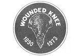 Wounded Knee Indian Occupation (Buffalo, 1890, 1973) Art Poster Print Prints