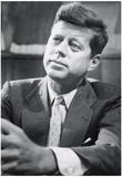 President John F Kennedy Archival Photo Poster Print Posters