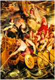 Peter Paul Rubens The Medici's [2] Art Print Poster Prints