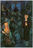 Walter Gramatte The Beichte Art Print Poster Posters