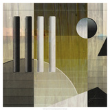 Quartet Tiles II Premium Giclee Print by James Burghardt