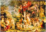 Peter Paul Rubens Venusfest Art Print Poster Print